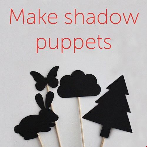 Shadow puppets graphic