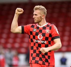 Jason McCarthy of Walsall FC