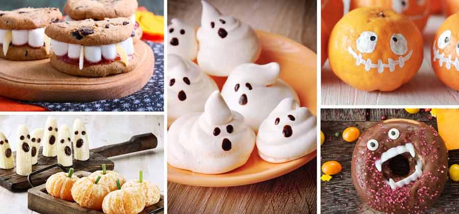 Halloween spooky snacks