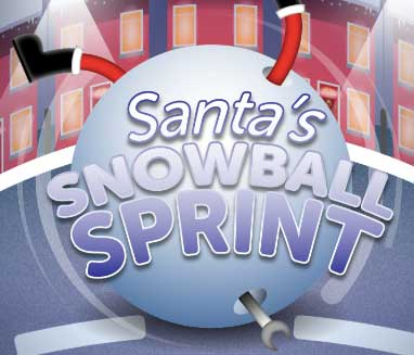 HomeServe Christmas Game 2018 - Play Santa's Snowball Sprint