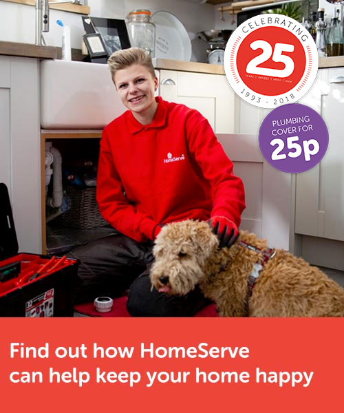 HomeServe - 25p special offer (limited time offer)