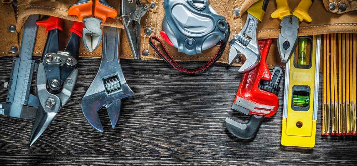 Tools on the floor